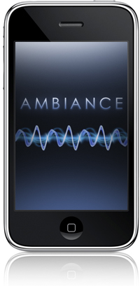 The wonderful Ambiance app for iPhone